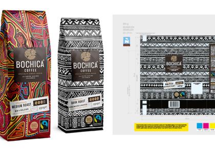 Bochica koffie verpakkingen